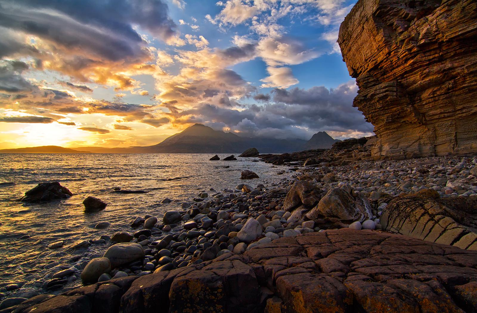 Elgol beach