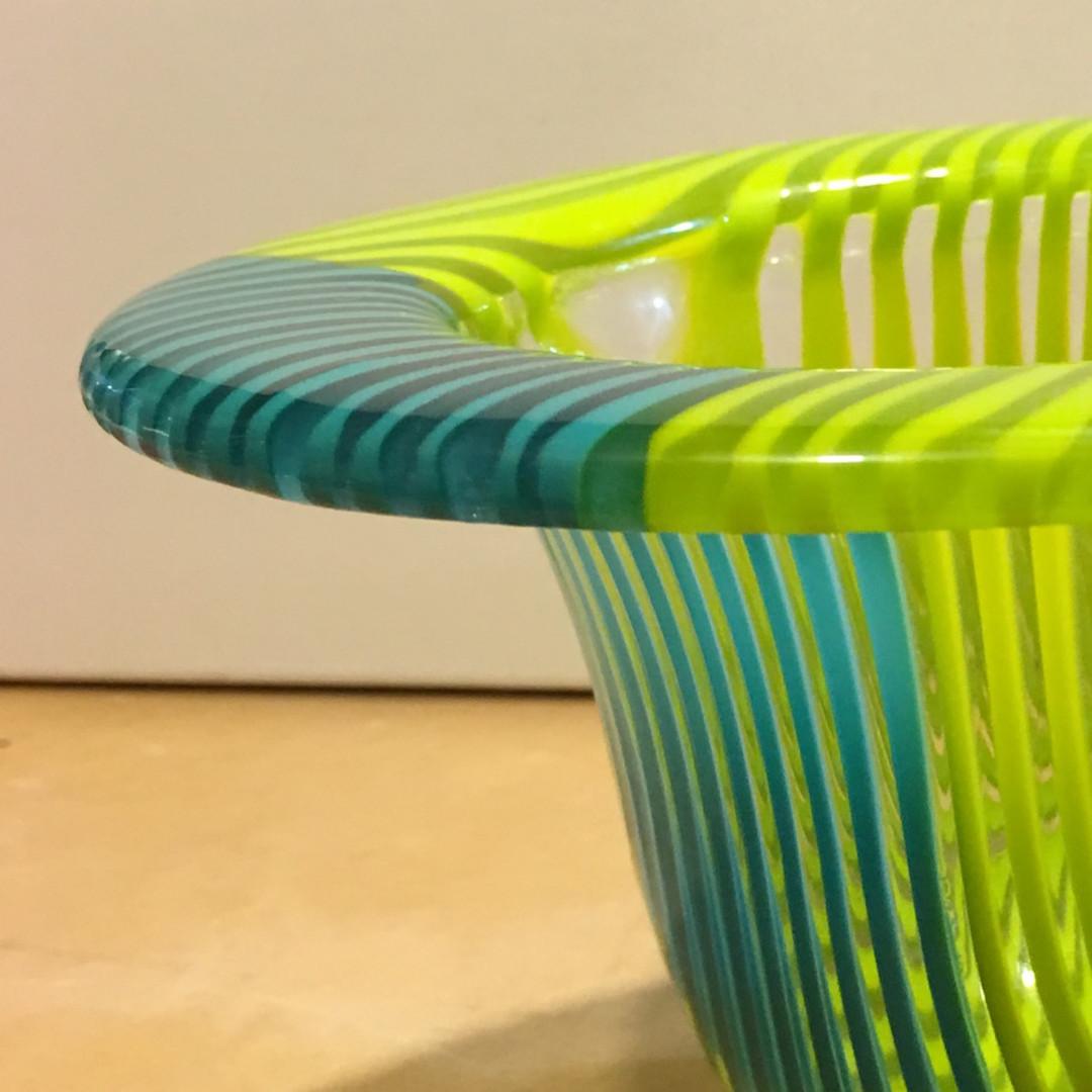Teal Green Drop Vase