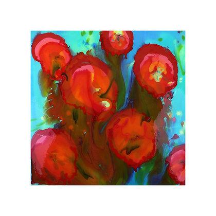 Poppy Addiction II (Pearl Print)