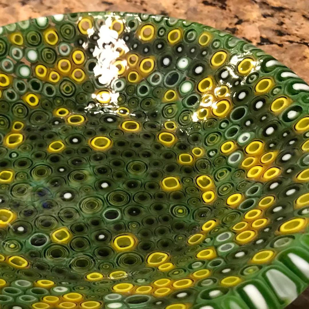 Green Yellow Bowl