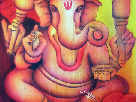 Eclipses, Ganesha and The Creative Process