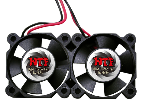 Twin 30mm Ultra High Speed Motor Cooling Fan