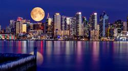 Full Moon over San Diego 1a