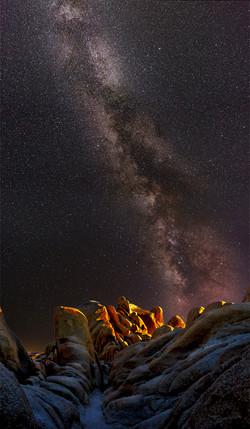 Milky Way Joahua Tree White Tank4