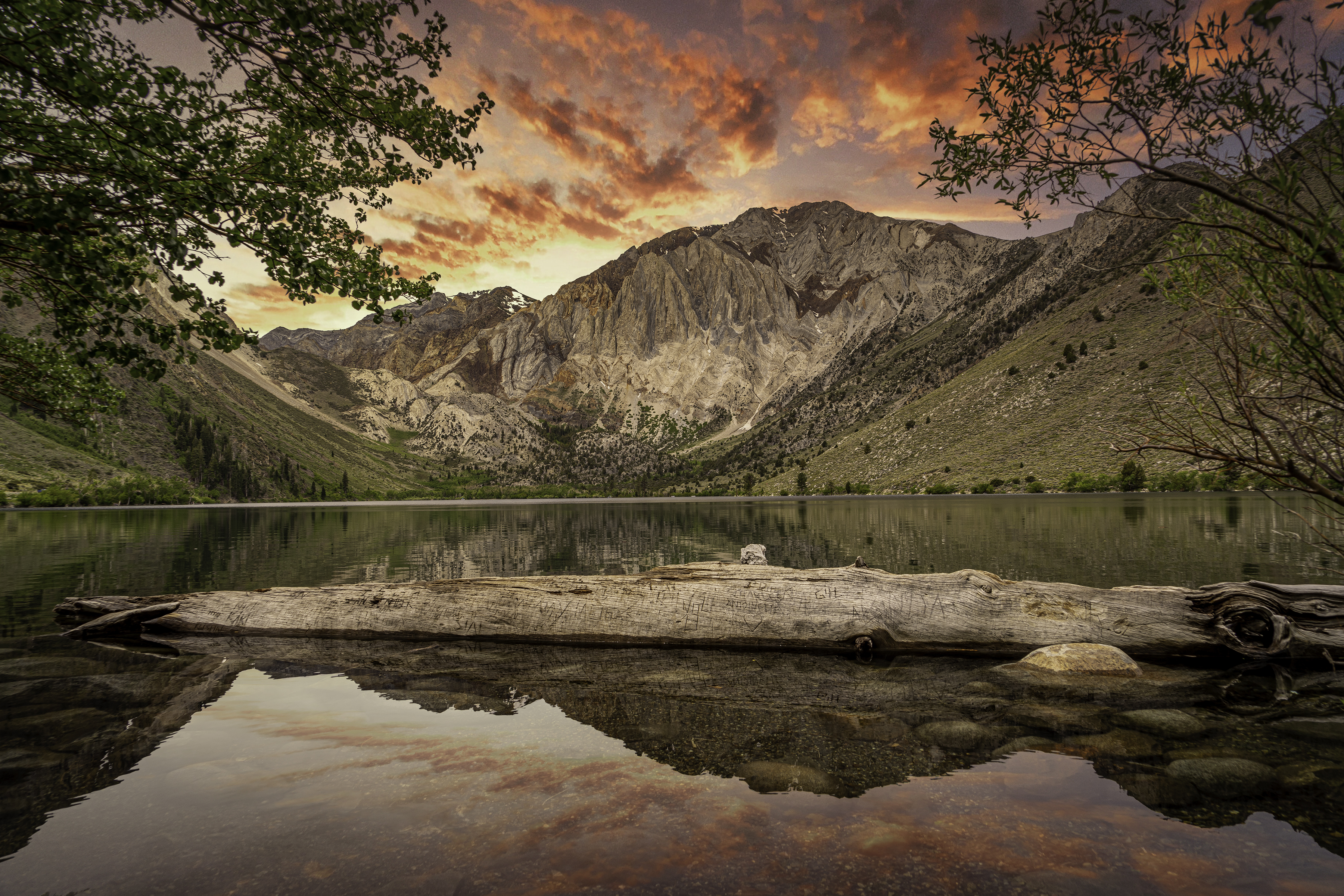 Convict Lake Sunset1 6-2020small