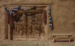 Hacienda Door Bench1