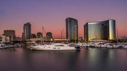 SD Marina sunset2
