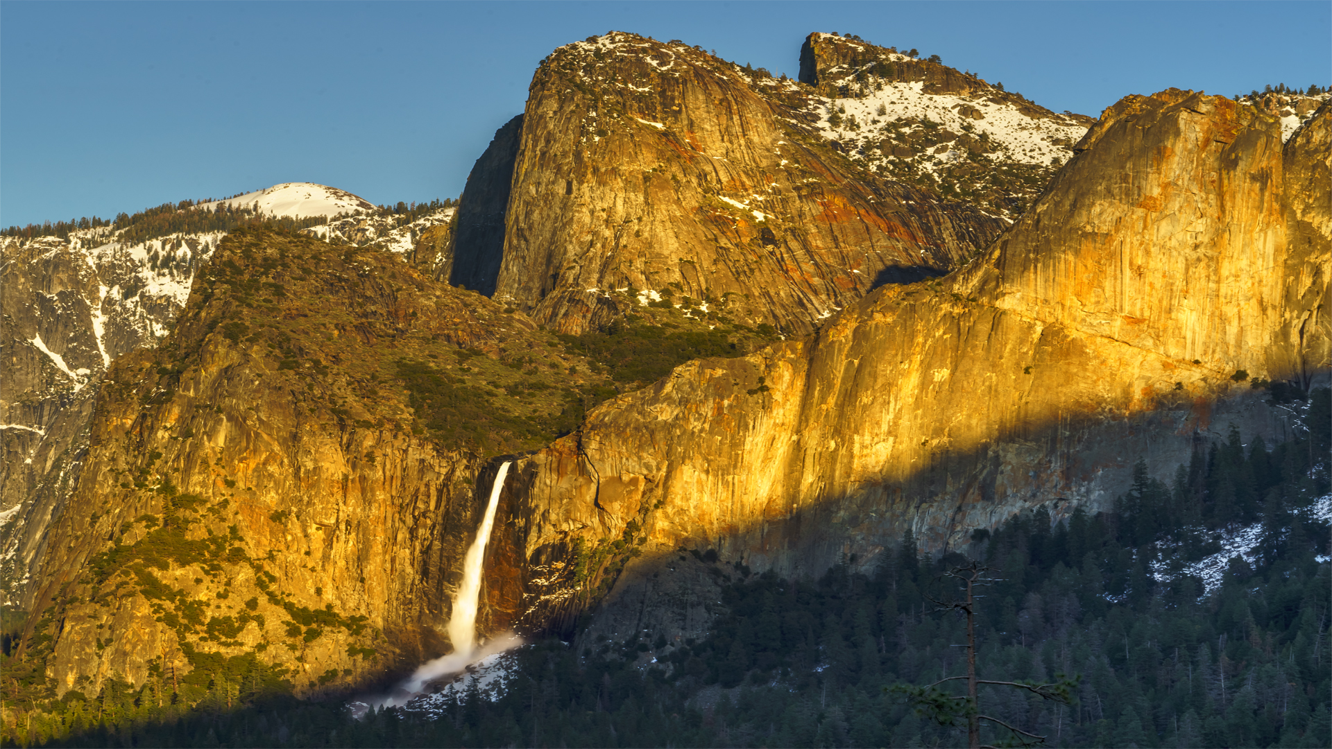 Cathedral Rock Bridalveil Falls2