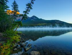 Sunrise Pyrmid Lake1