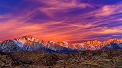 Sunrise Mt Whitney Range1 3-30-18