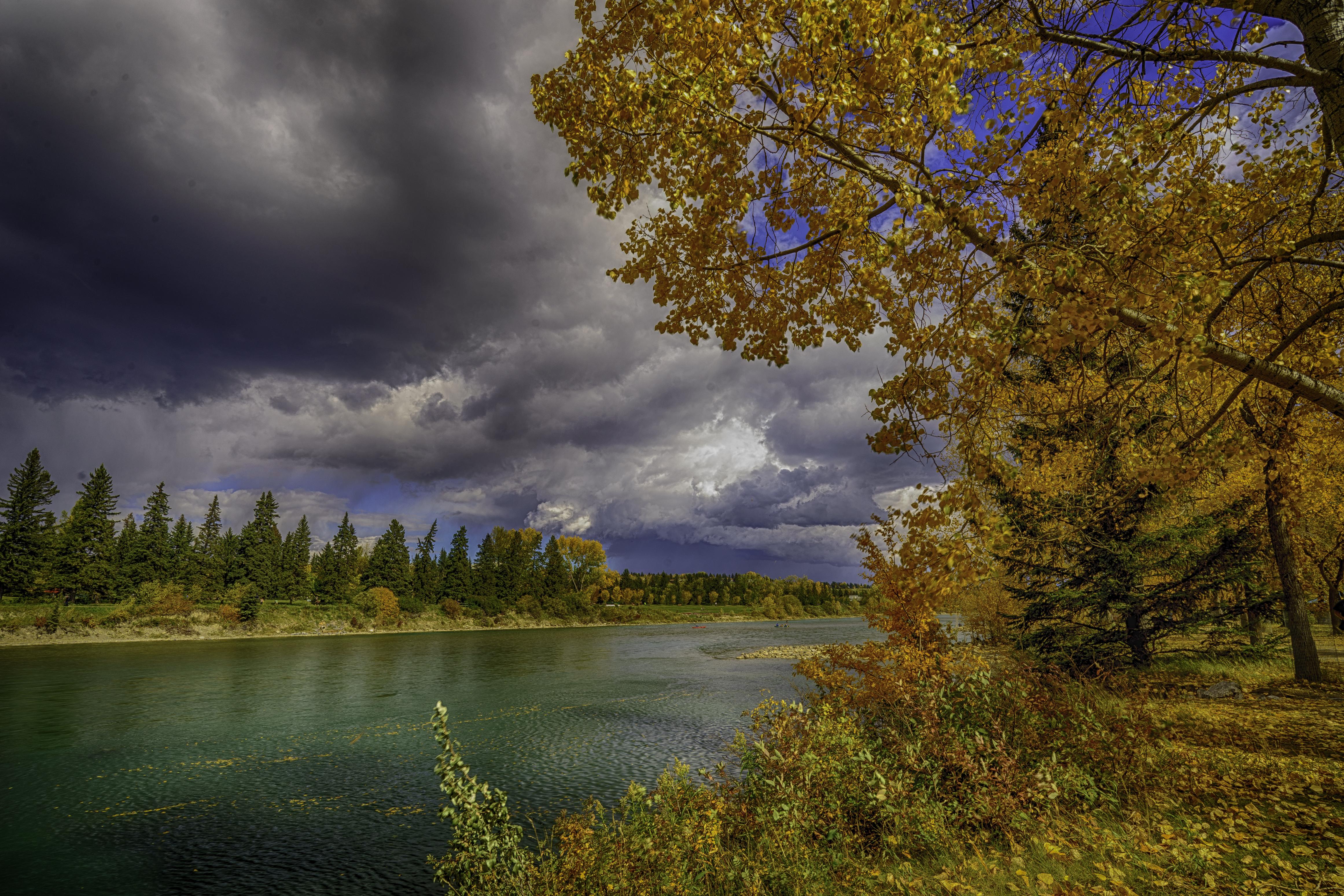 Bow River, Calgary, Alberta, Canada