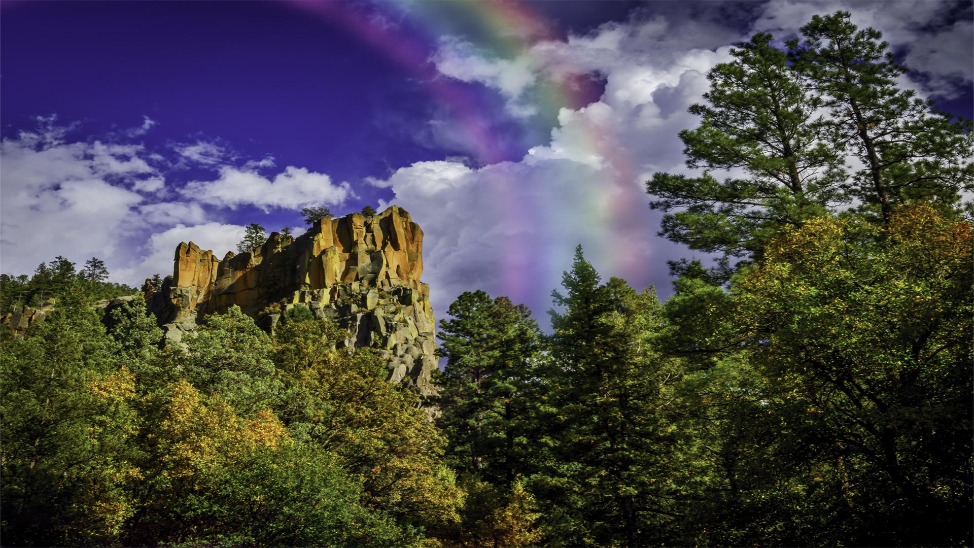 Battleship Peak Rainbow1