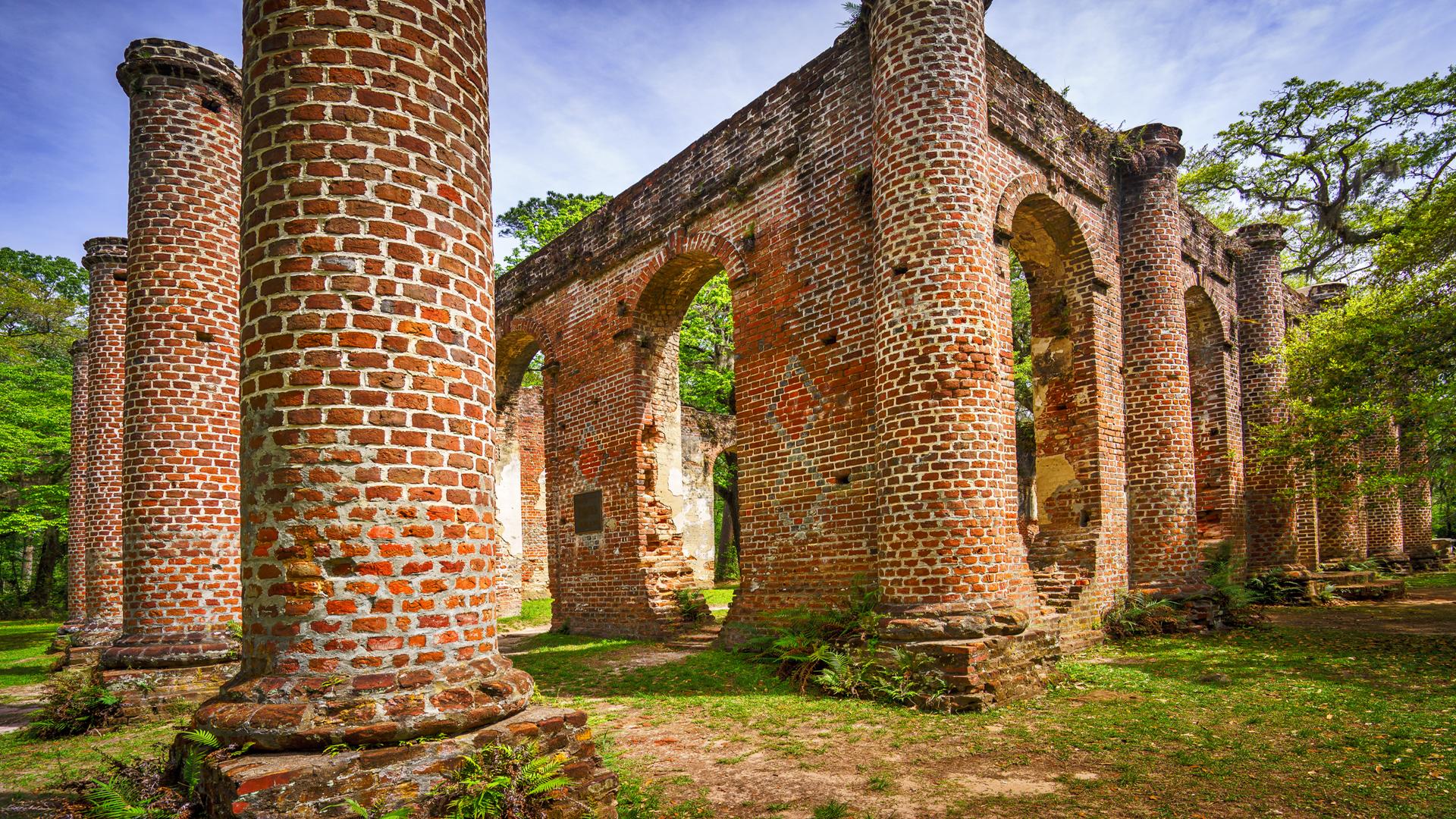 Old Sheldon Church5a
