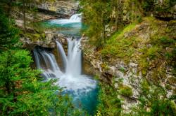 Johnston Canyon Falls3_HDR