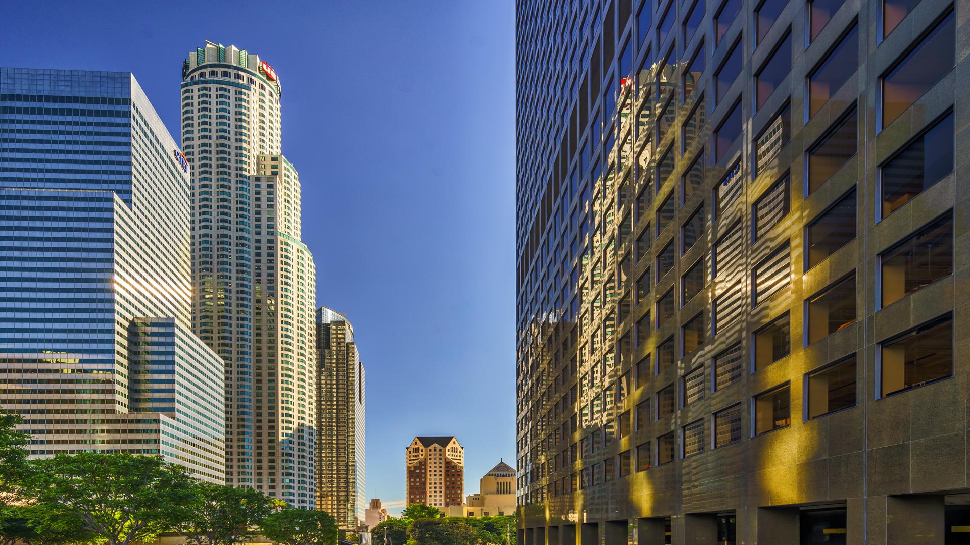 DowntownLA1, Los Angeles cityscape