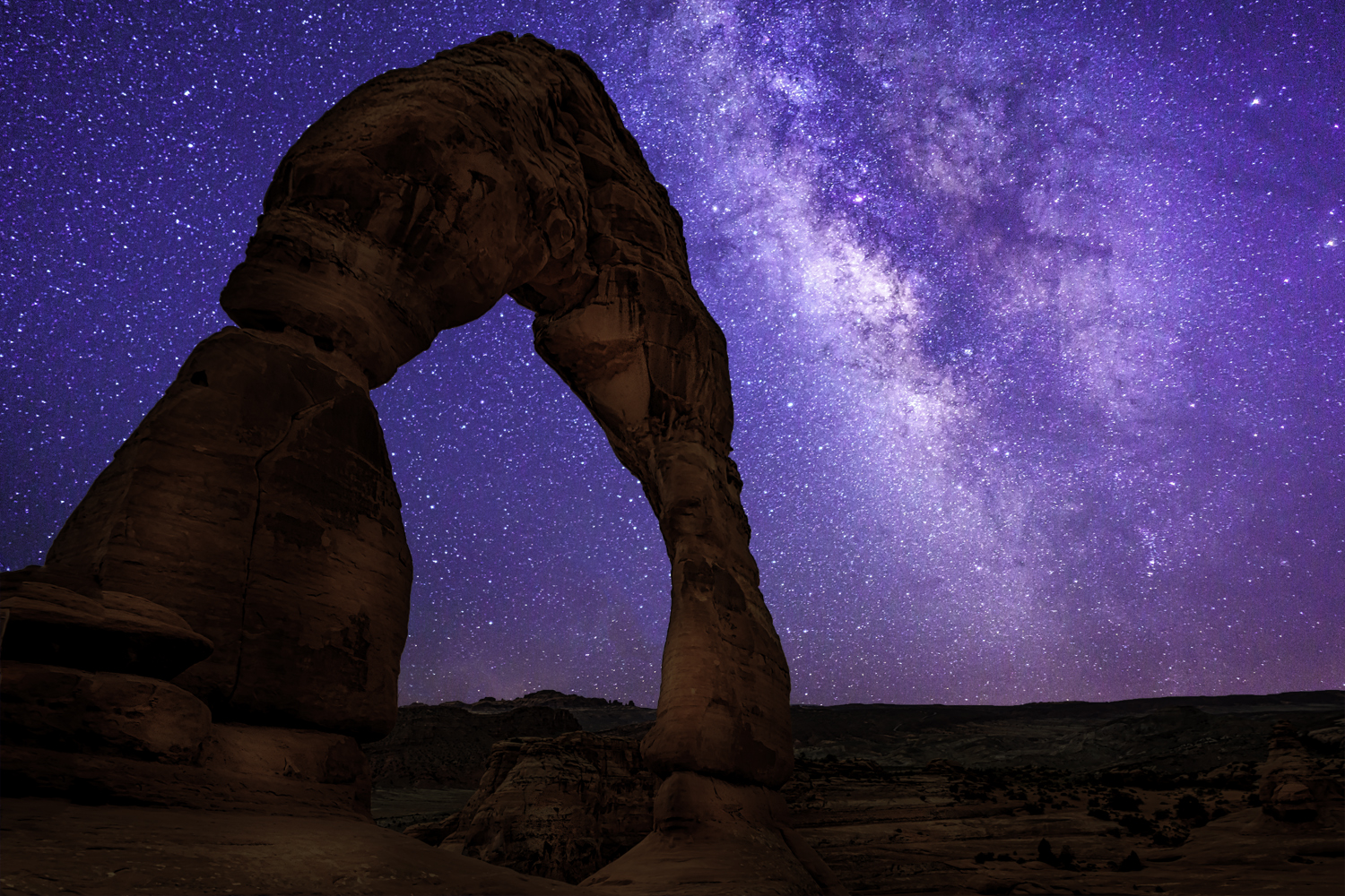 Milky Way DelicateArch1sml