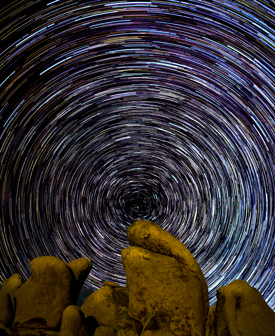 Star Trails Joshua Tree2