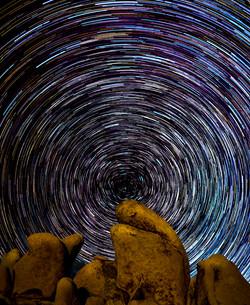 Star Trails Joshua Tree2