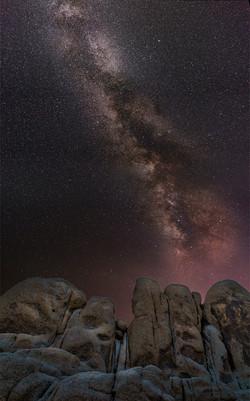 Milky Way Joahua Tree White Tank2