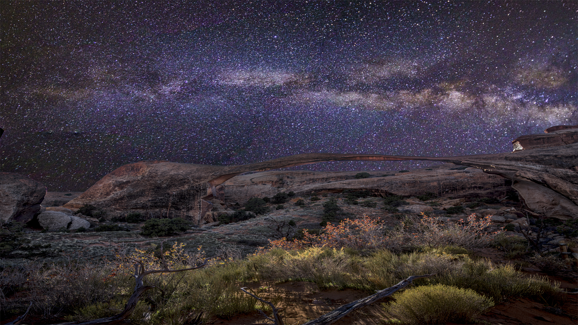 MilkyWay LandscapeArch1