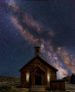 Milky Way Bodie Church1
