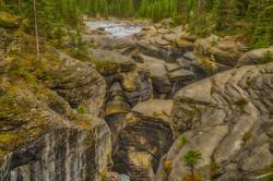 Mistaya Canyon, Canadian Rockies