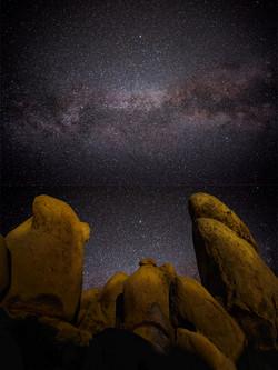 Milky Way Joahua Tree White Tank3