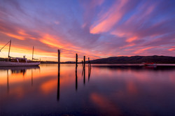 Lake Te Anau Sunrise1small