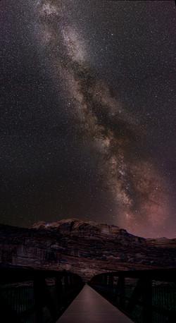 Milky Way Bridge Wall1