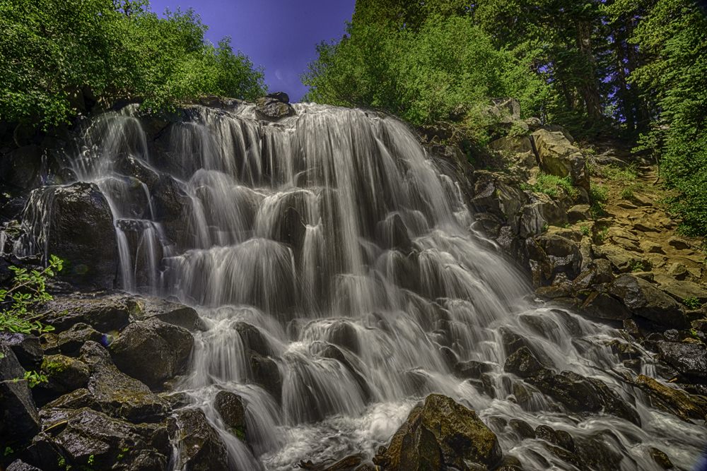 Twin Lakes Falls, Mammoth Lakes, CA