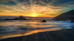 SunsetBigSur1sunrays