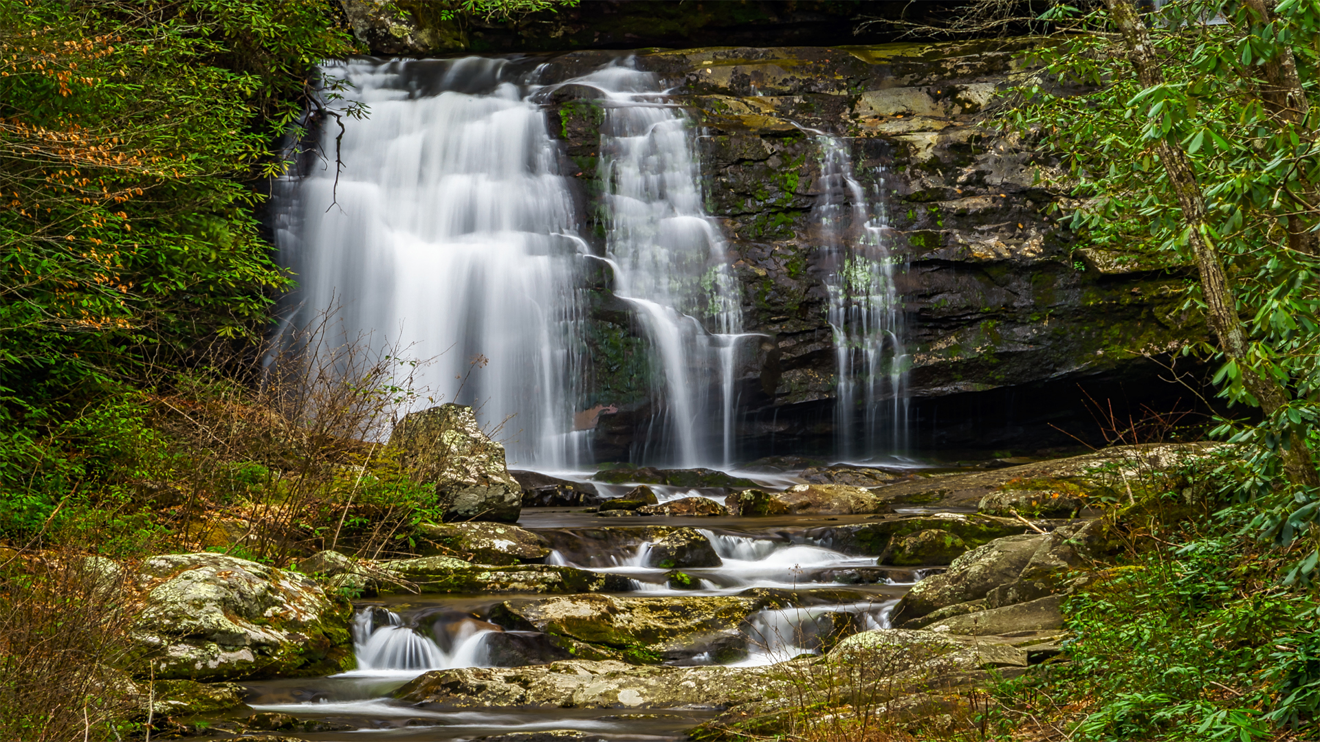 Gatlinburg-Potter Creek Falls1a