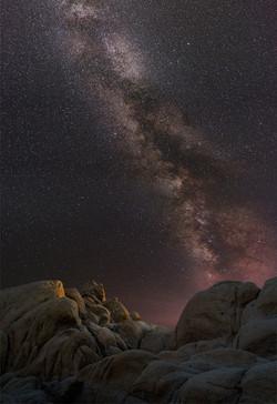 Milky Way Joahua Tree White Tank1