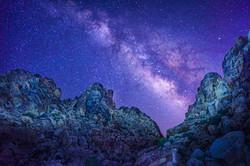 Milky Way Pano at Sheep Pass1small