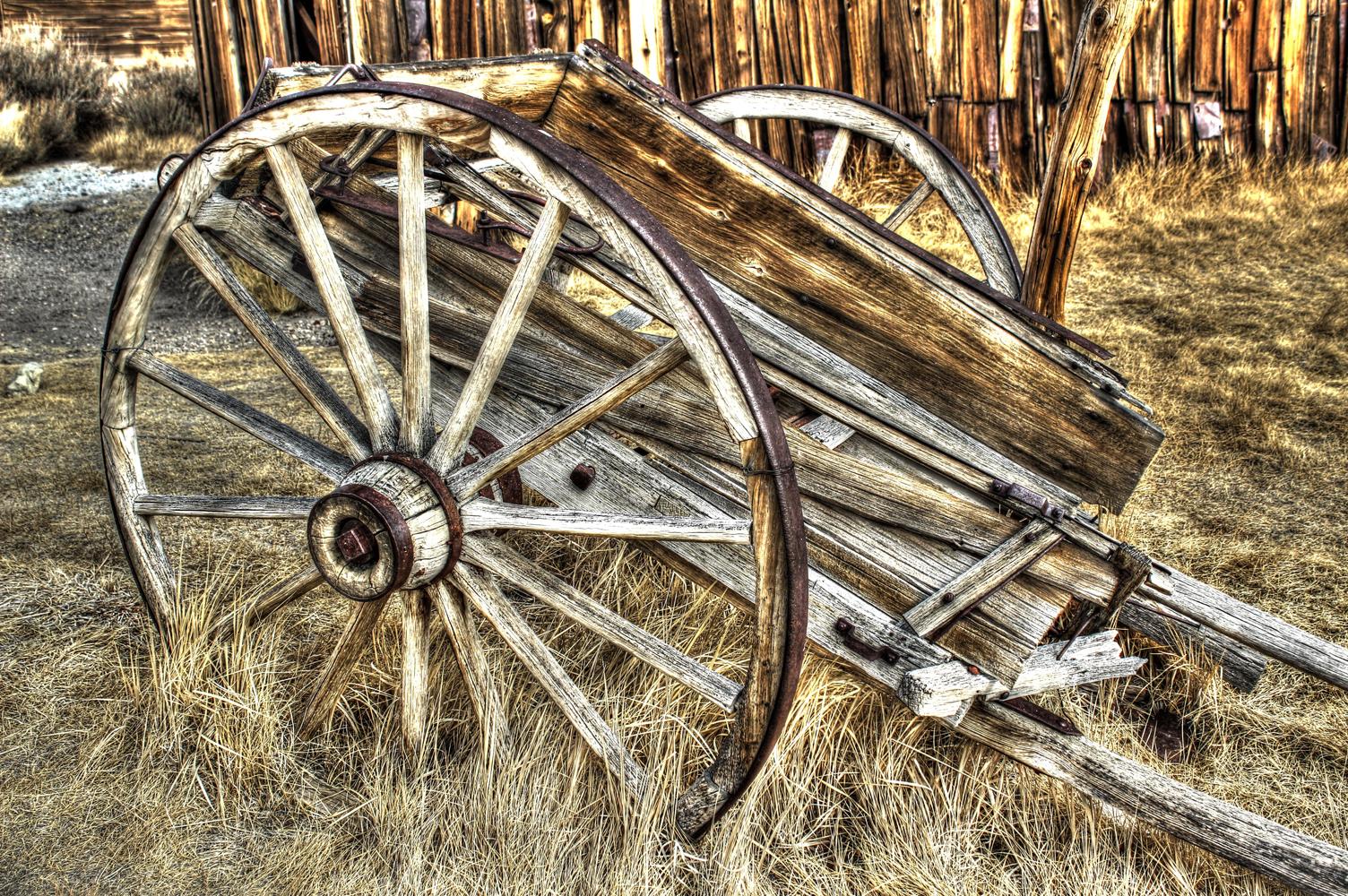 Bodie wagon Wheel, Bodie, Ca
