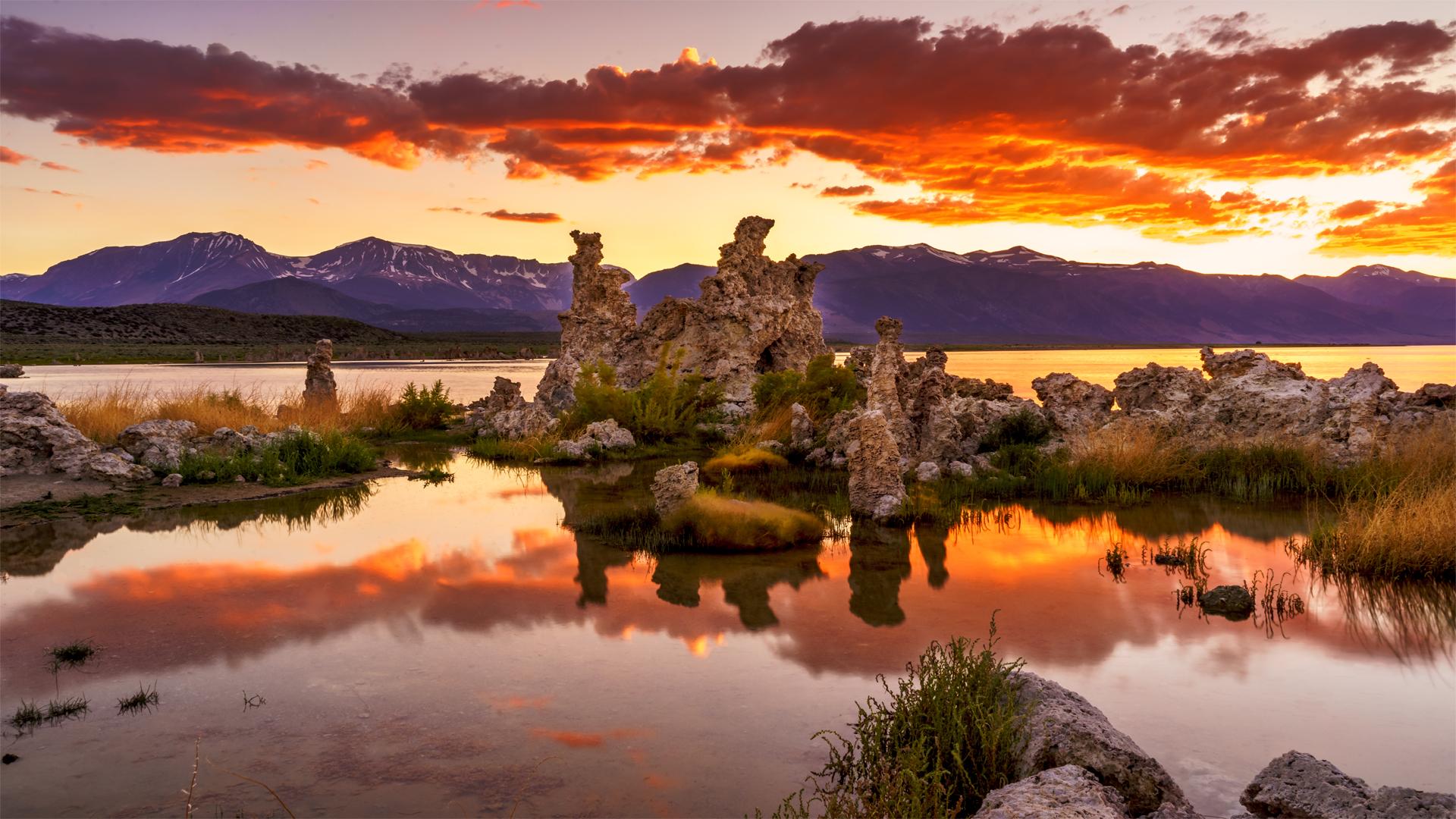 Sunset Mono Lake Tufa6