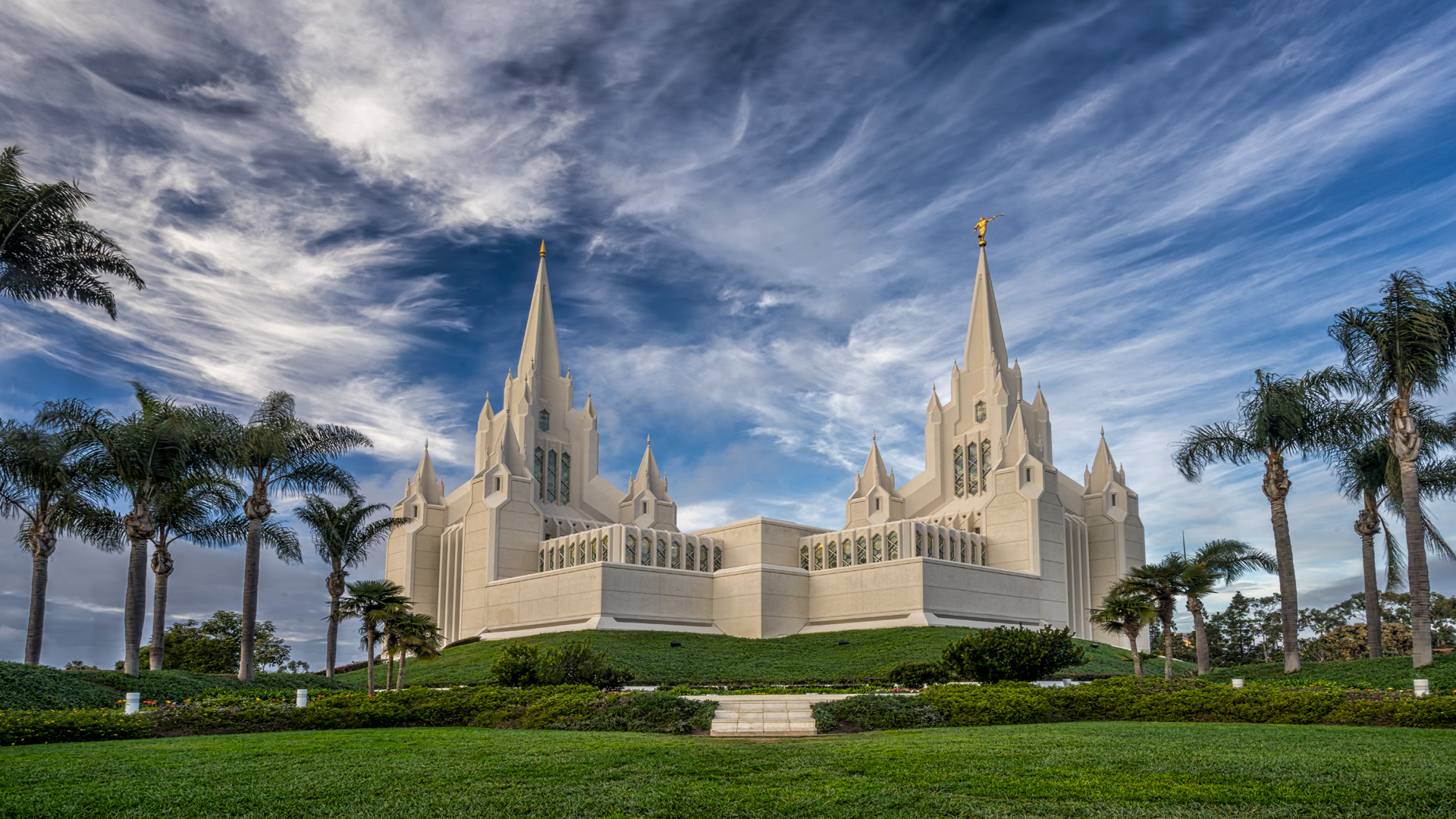 Mormon Temple1, San Diego