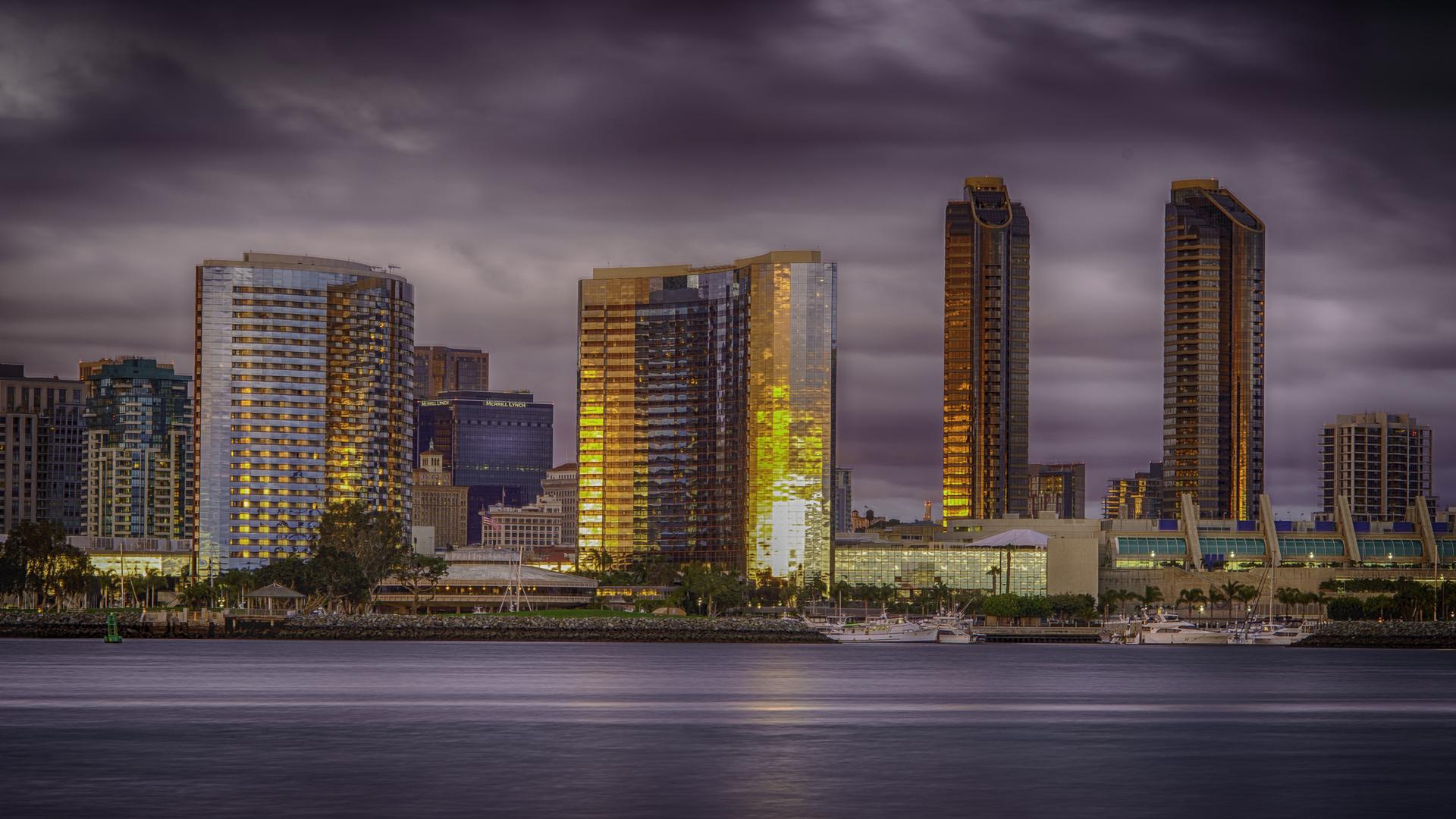 Cityscape Sunset2, San Diego