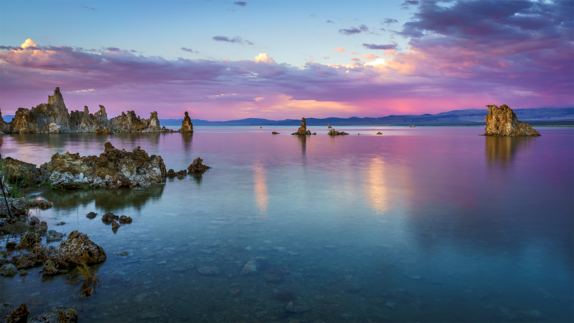 Sunset Mono Lake Tufa3