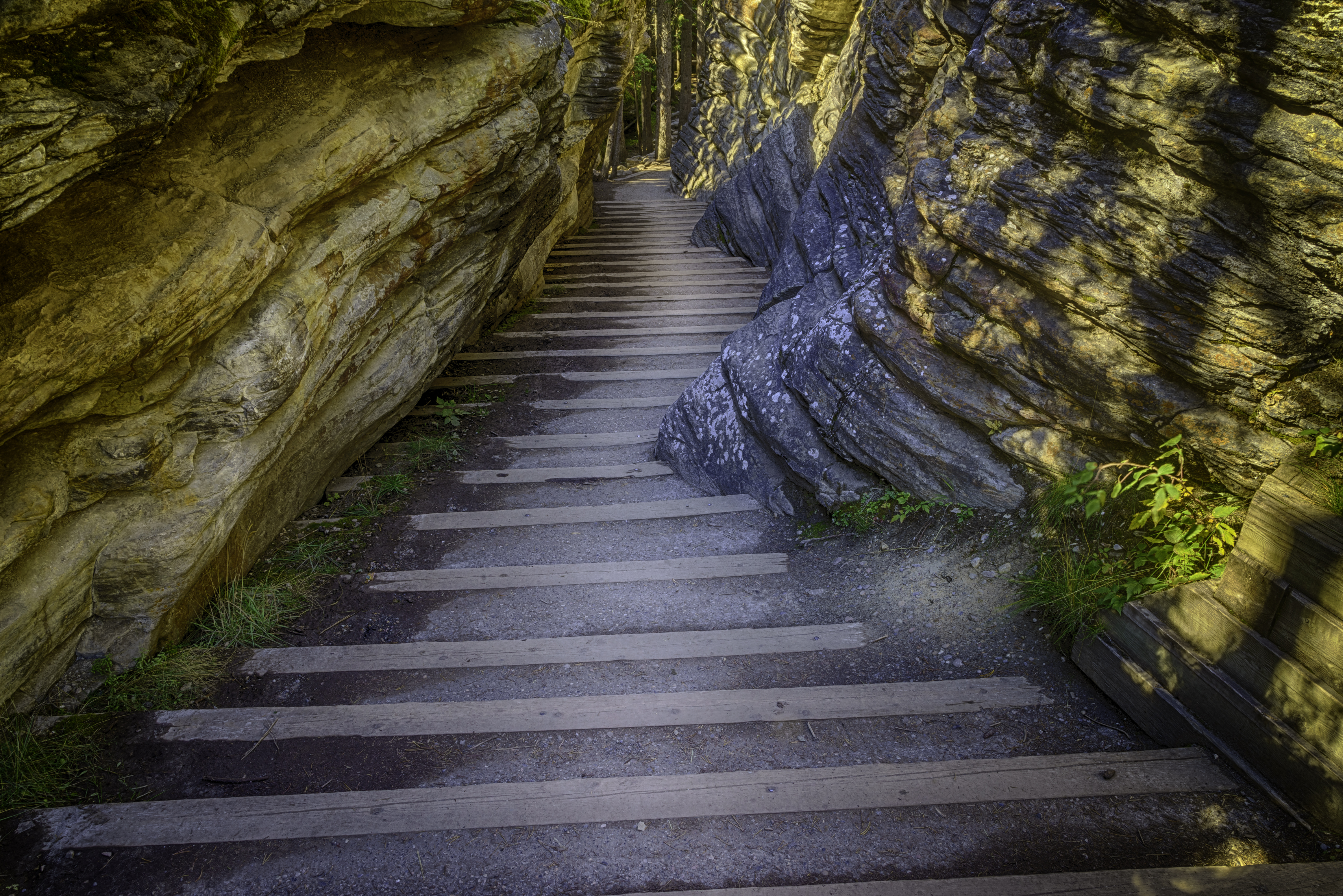 Athabasca Stairway, Canadian Rockies