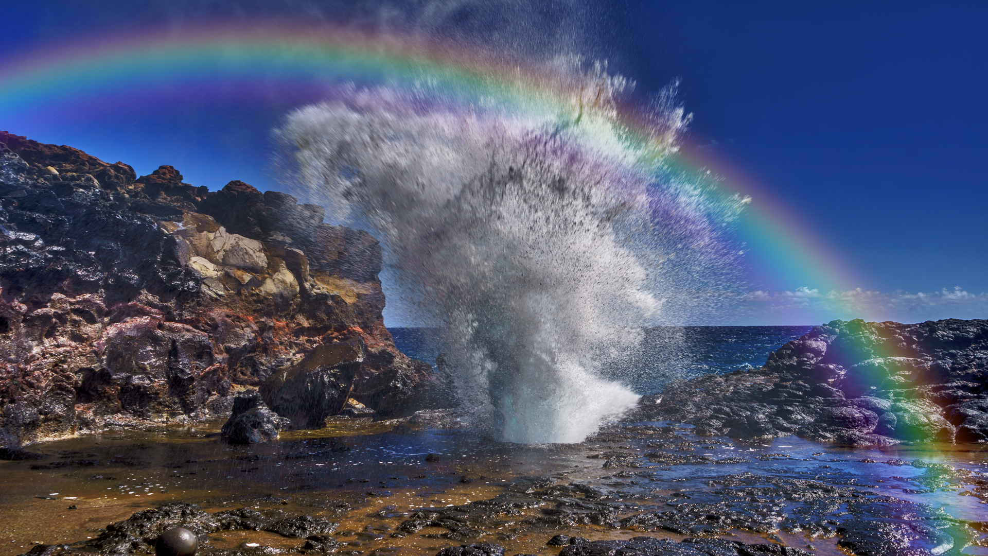 Blow Hole Rainbow1