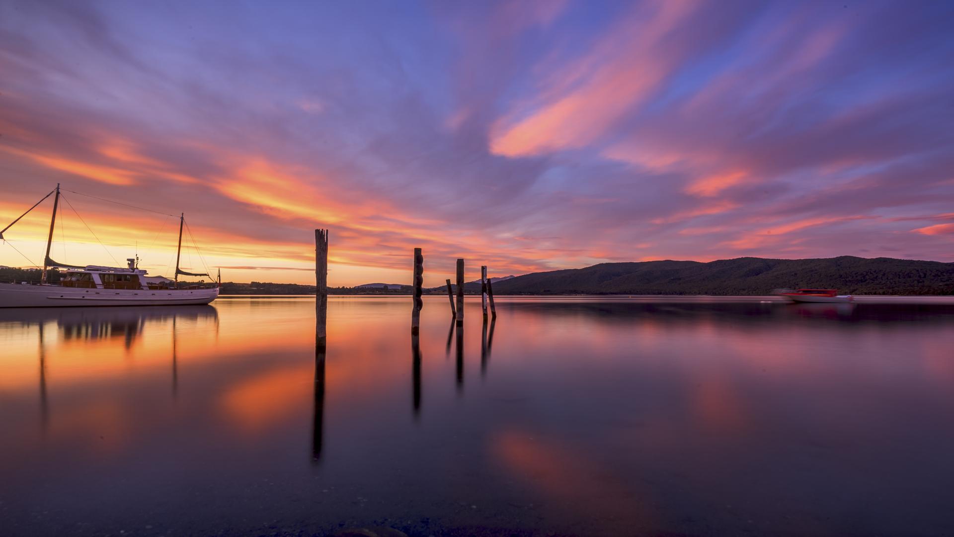 Lake TeAnau Sunrise6