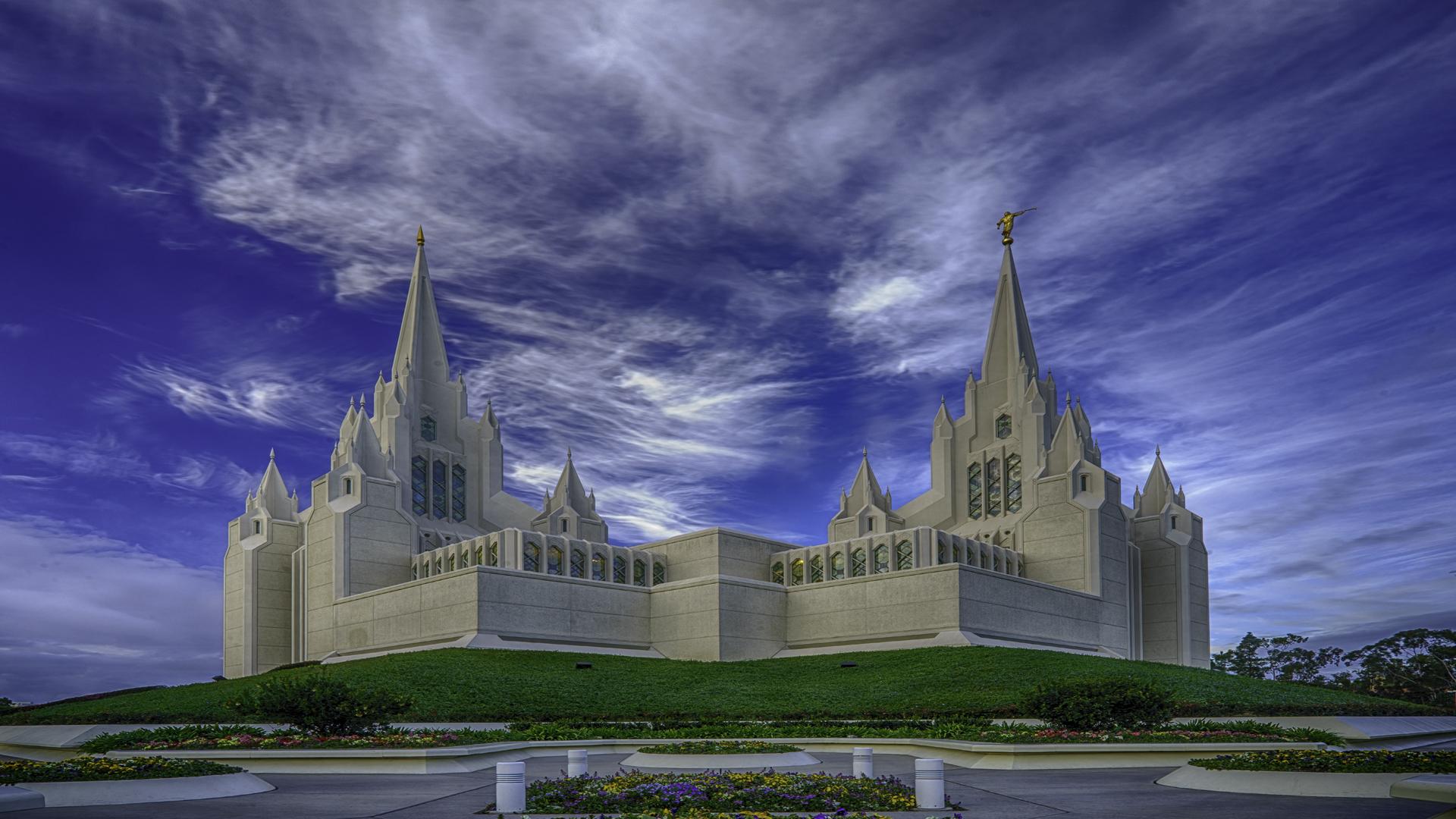 Mormon Temple2, San Diego