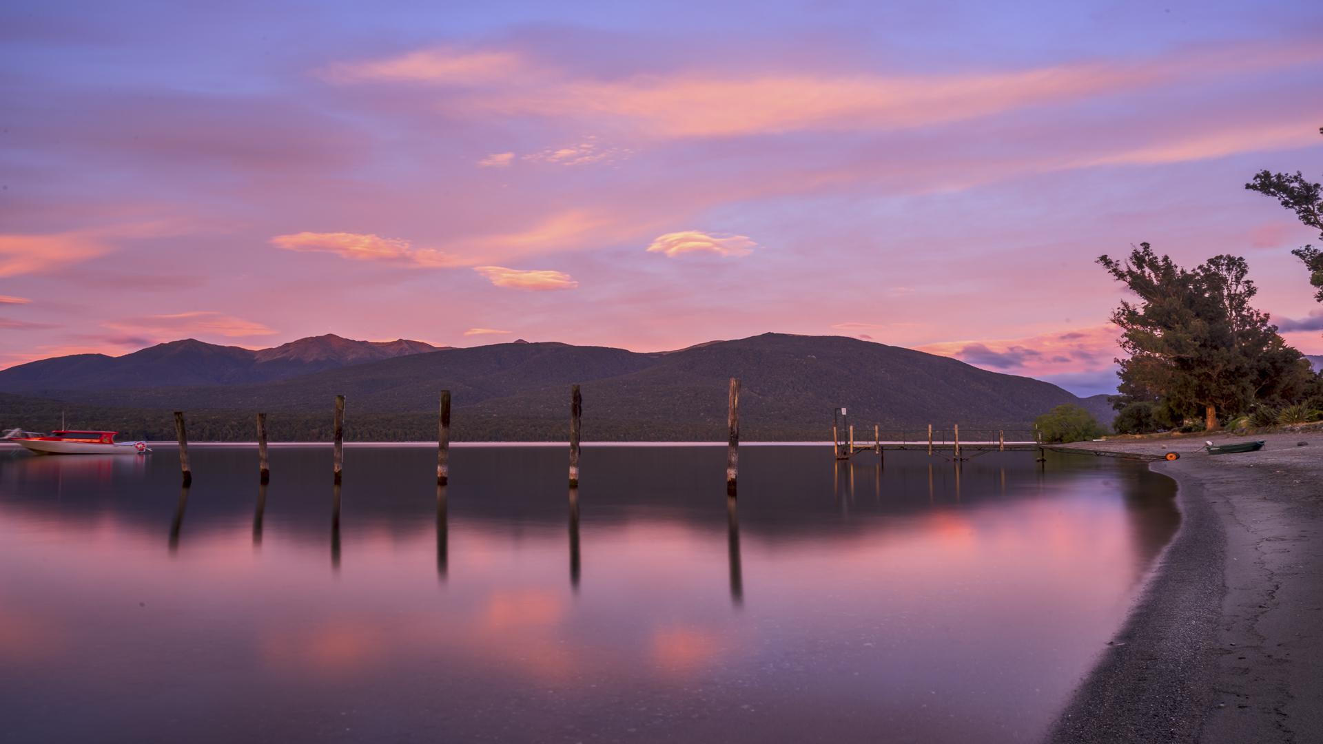 Lake TeAnau Sunrise7