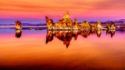 Sunset Mono Lake 12-13-17 2