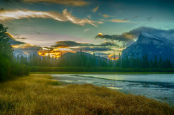 Sunrise Mt. Rundle1_HDR