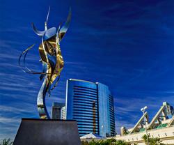 Marriott-sculpture, San Diego Marina