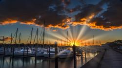 Auckland Sunset 1