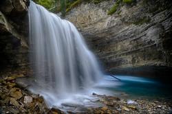 Johnston Canyon Falls8_HDR