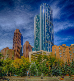Bow Tower Calgary skyline, Alberta